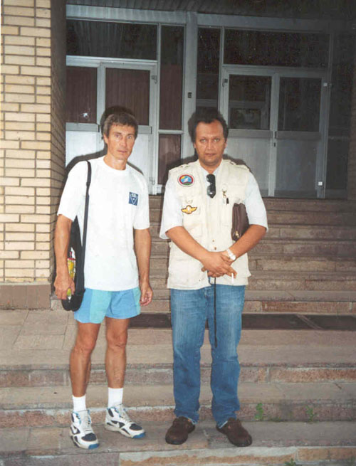 # ic660            Moscow 2001, With Sergei Krikalev 2