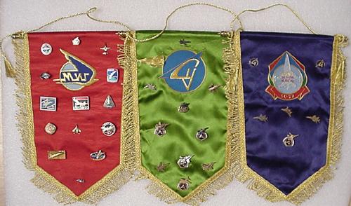 # abp200            Sukhoi and MIG presentation pins on pennants 1