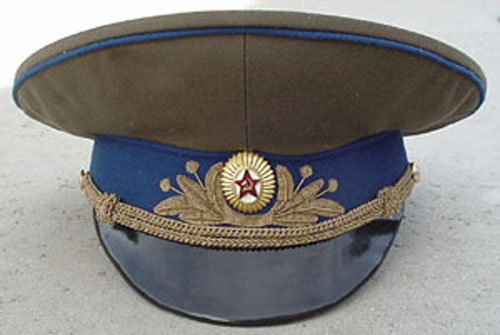 # ac101            Airforce General and Officier visor uniform hats 1