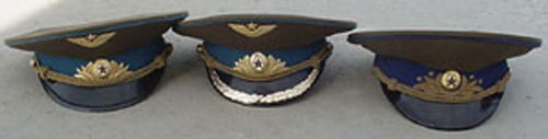 # ac101            Airforce General and Officier visor uniform hats 2