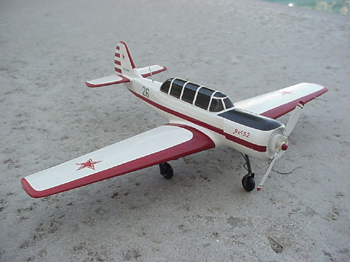 # ya100            Yak-52 desktop display model 1