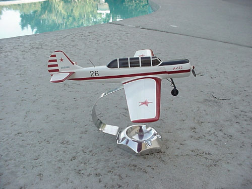 # ya100            Yak-52 desktop display model 3