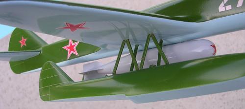 # seapl104            PSN-2 OKB Nikitin bomb/torpedo sea plane carrier 3