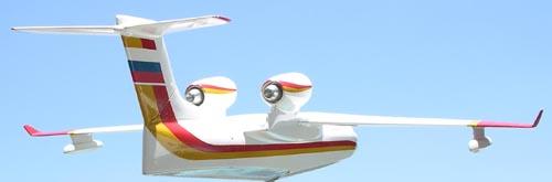 # seapl131            Be-200 model (needs repair-reduced price) 3