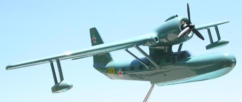 # seapl117            Be-8 (KOR-4) Mole Beriev Factory Model 1