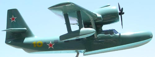 # seapl117            Be-8 (KOR-4) Mole Beriev Factory Model 3