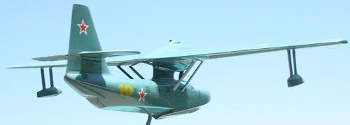 # seapl117            Be-8 (KOR-4) Mole Beriev Factory Model 5