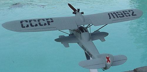 # seapl105            Shavrov SH-2S sea plane 4