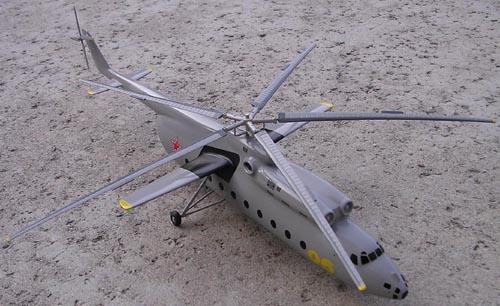 # hm099            Mi-6 Mil model 1