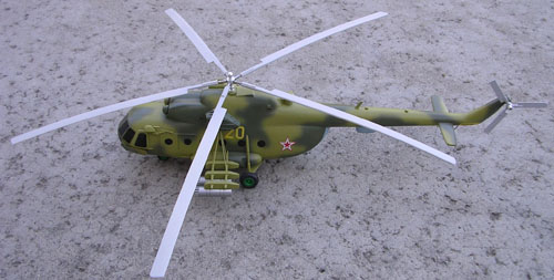 # hm098            Mil-8 exclusive helicopter model from Mil factory. 1