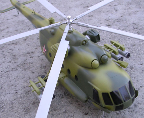 # hm098            Mil-8 exclusive helicopter model from Mil factory. 2