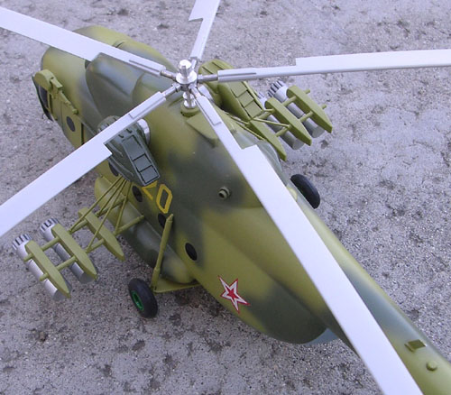 # hm098            Mil-8 exclusive helicopter model from Mil factory. 3