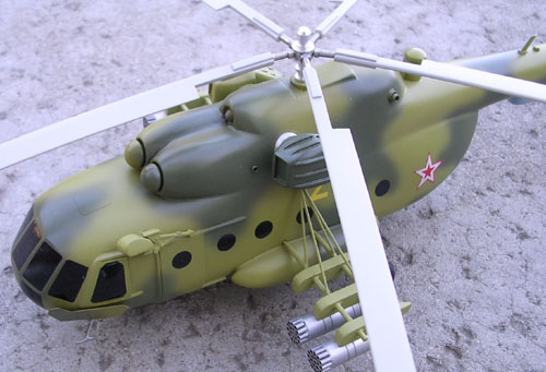# hm098            Mil-8 exclusive helicopter model from Mil factory. 5