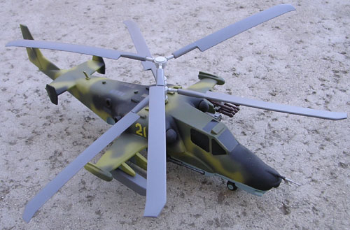 # hm108            Kamov-50 attack helicopter 2