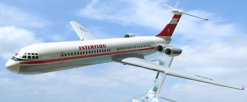 # aairl088            Il-62 Interflug DDR old Ilyushin model 4