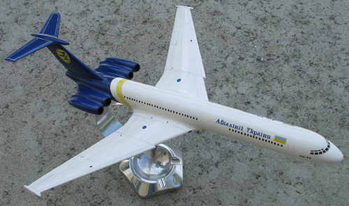 # aairl087            Il-62 Air Ukraine International model 1