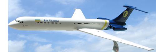 # aairl087            Il-62 Air Ukraine International model 2