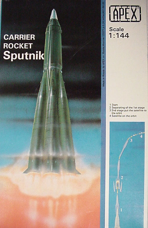 # sm900            Sputnik rocket carrier R-7 kit model 1