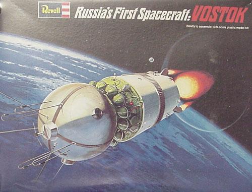 # sm902            Vostok spaceship plastic kit model 1