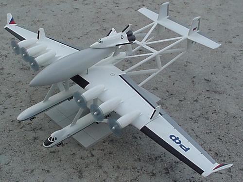 # sm561            M-90 Myasishchev with Maks shuttle variant-2 3