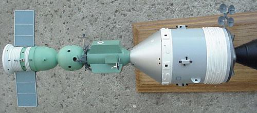 # astp110            Apollo-Soyuz docked desktop display model 2