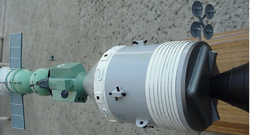 # astp110            Apollo-Soyuz docked desktop display model 3