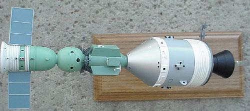 # astp110            Apollo-Soyuz docked desktop display model 5