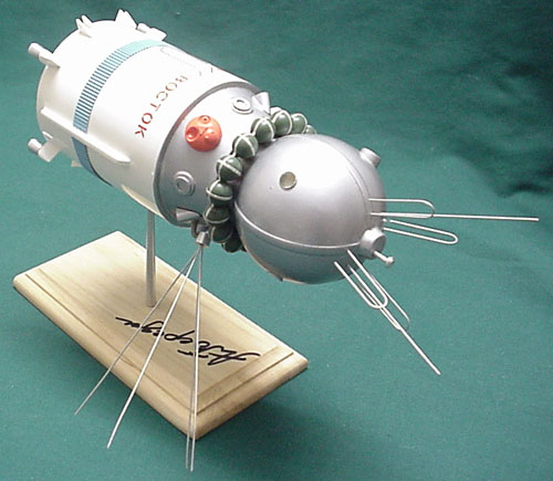 # sm125            Vostok spaceship presentation model 1