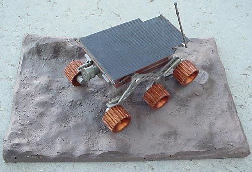 # sm253            Mars rover `Pathfinder` Russian made metal model 1