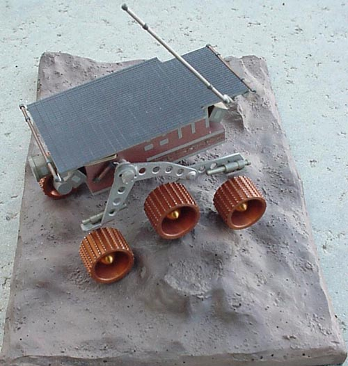 # sm253            Mars rover `Pathfinder` Russian made metal model 2