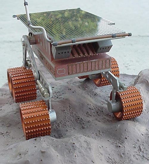 # sm253            Mars rover `Pathfinder` Russian made metal model 3