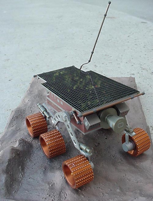 # sm253            Mars rover `Pathfinder` Russian made metal model 4