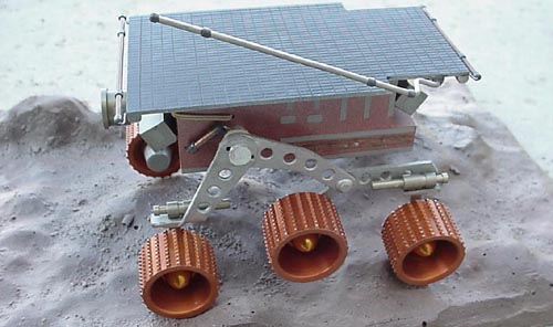 # sm253            Mars rover `Pathfinder` Russian made metal model 5