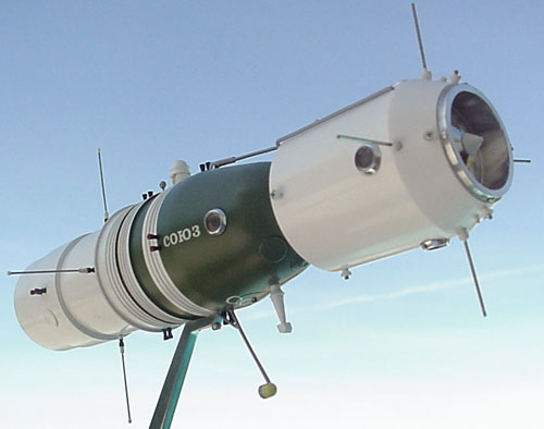 # sm170            Soyuz-1 project station metal model 2