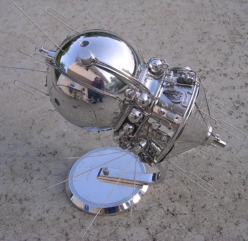 # sm012            Vostok manned spacecraft museum model 1