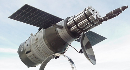 # sm493            DOC-7 Rocket weapon military space station. 5