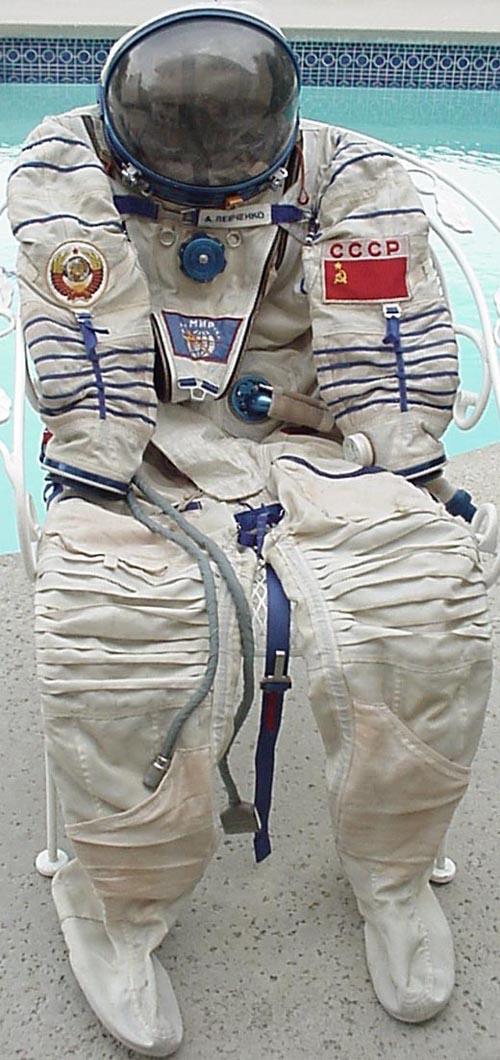 # h050           Cosmonaut Anatoliy Levchenko `Sokol` suit 1