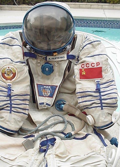 # h050           Cosmonaut Anatoliy Levchenko `Sokol` suit 3