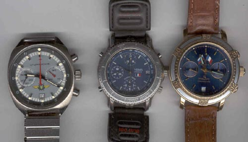 # fpit100           Watches of cosmonaut A.Poleshuk flown Soyuz 1