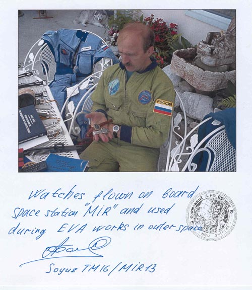 # fpit100           Watches of cosmonaut A.Poleshuk flown Soyuz 3