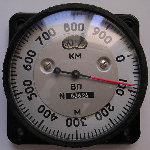 # s099            Soyuz TMA Altimeter 1
