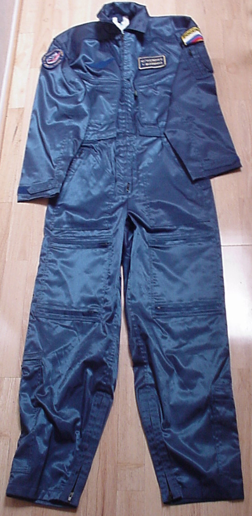 # s135            Cosmonaut Training Suits 1