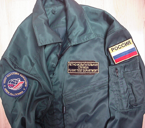 # s135            Cosmonaut Training Suits 4
