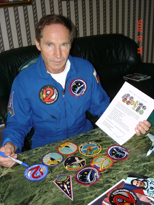 # spp092b            ISS-12 expedition woven patches 2