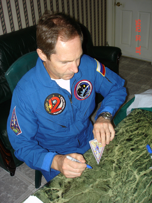 # spp092a            Soyuz TMA-7, ISS-12 and Personal crew patches 2