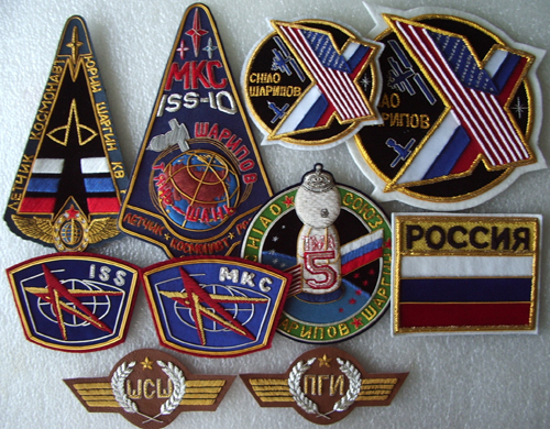 # spp099            Soyuz TMA-5/ISS-10 patches 1