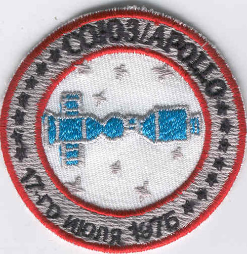 # spp140            Soyuz-Apollo training patch 1