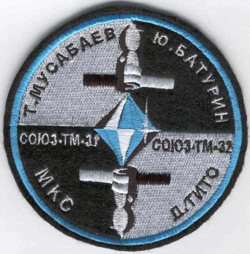 # spp145            Soyuz TM-31/TM-32/ISS 1