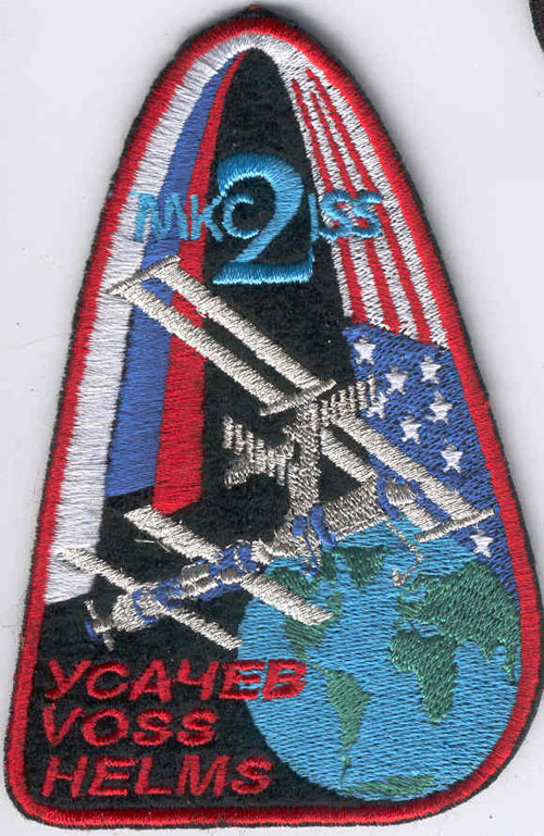 # spp147            ISS Expedition-2 Russian patch 1