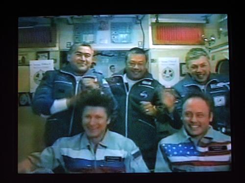 # spp095            Soyuz TMA-5 emblem 2